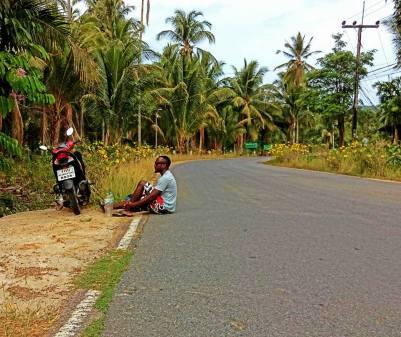Island biking.