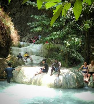 Erawan water falls, kanchanaburi National park
